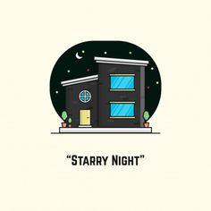 Vector Design, Night