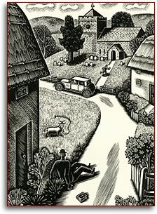 Image: engraving from 'Goat Green' Eric Ravilious
