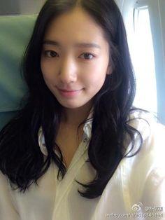 Park Shin Hye update from Weibo ~