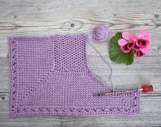 Krokalong, sjal, del 1. DESIGN: Linda Brodin Monster, Crochet Top, Shawl, Sweet, Design, Women, Fashion, Candy, Moda