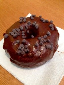 All hail the triple chocolate doughnut from Crave Bakeshop in Portland, OR