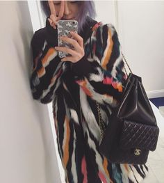 Irene Kim CHANEL Backpack in Seoul Cruise 2016