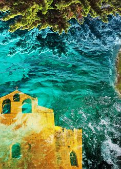 """Surreal photo collage double exposure """"Over the water"""" Photoshop Photography, Photography Photos, Surreal Photos, Double Exposure, Photo Manipulation, Great Photos, Color Splash, Surrealism, Photo Art"""