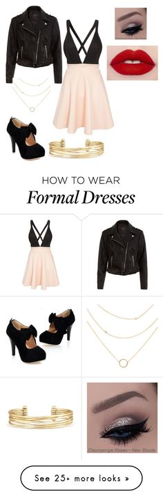 """""""Formal"""" by emptyclouds on Polyvore featuring Club L, New Look and Stella & Dot"""