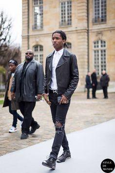 ASAP ROCKY A$ap Rocky, Pretty Flacko, Beautiful People, Bomber Jacket, Menswear, Mens Fashion, Jackets, Clothes, Style