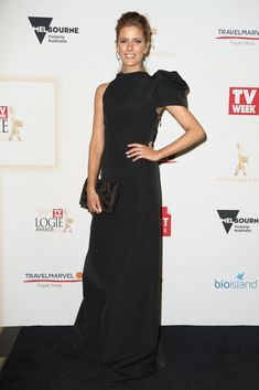 Lara Pitt Here's What Everyone Wore To The 2017 Logies Victoria Australia, Red Carpet, Awards, Formal Dresses, How To Wear, Events, Night, Fashion, Dresses For Formal