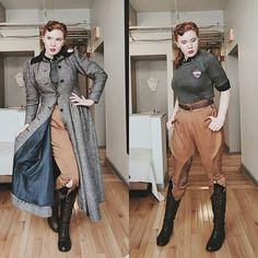 Ravenclaw Quidditch Uniform, 1940's. Inspired by @marlavonduta's really cute Slytherin uniform drawing.  #thecosplaycompanion