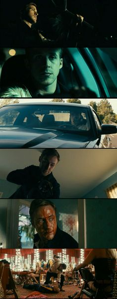 "Ryan Gosling as ""driver"" in Drive. (2011)"