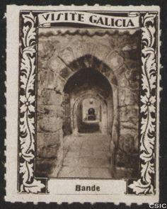 Bande (Ourense) : [Viñeta con imagen de los tuneles de la Iglesia visigótica de Santa Comba en Bande] / [fotógrafo, Luis Casado Fernández]. http://aleph.csic.es/F?func=find-c&ccl_term=SYS%3D001528691&local_base=MAD01