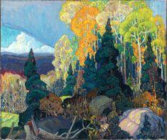 Franklin Carmichael (1890-1945, Canada)