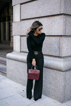 All Black Everything | Ann Taylor | Style MBA