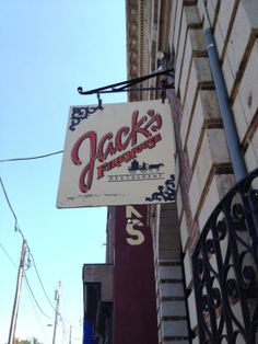JJack's also offers some of the best outdoor dining in the city next to our urban waterfall. Located near the corner of 22nd Street & Fairmount Avenue, only 5 blocks from the Philadelphia Museum of Art, 4 blocks from the Barnes Museum, minutes from Center City Hotels and across the Street from Eastern State Penitentiary Historic Site. (215) 232-9000 http://www.jacksfirehouse.com/