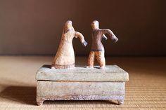 Korean antique ceramic box, Jeon Il Gun 全日根