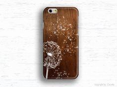 Earthy colora at DaWanda Phone Cases – iphone 6 case Dandelion phone case, iPhone Galaxy – a unique product by caseme555 on DaWanda