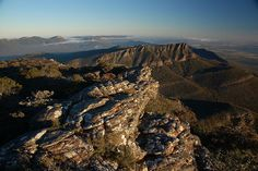 Australia, Victoria, Grampians NP, Views from Mt William (to Red Man Bluff) by Sam Kay, via Flickr