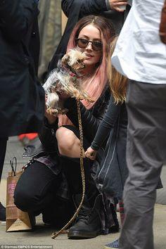 Amber Heard és Boo   #kutya #dog #yorkshireterrier #terrier #yorkshire #yorkie #australia #johnnydepp #amberheard