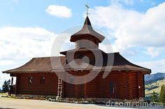 Historical monument , Prislop monastery, in Romania, Maramures region, Europe.