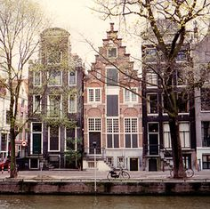 My mother lives in Amsterdam now. Can't wait to go and visit her there!