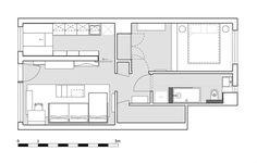 Dit kleine appartement in Londen is super slim verbouwd  - Esquire.nl