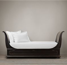 St. James Sleigh Daybed with slide out pop-up trundle 2095.00