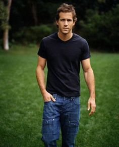 Ryan Reynolds... It doesn't matter that you have 8th grade carpenter jeans on. I still love