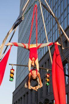 Kaci   Big Top Circus   Aerial Silks   Partner Aerials   Duo Silks   Performers   Imagine Circus   Cirque   Raleigh, NC