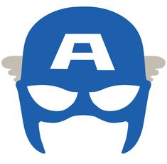Captain America Mask SVG DXF Captain America Cut File Clipart - Visit to grab an amazing super hero shirt now on sale! Captain America Maske, Captain America Party, Captain America Birthday, Spongebob Birthday Party, Superhero Birthday Party, Boy Birthday, Batman Party, Birthday Parties, Avenger Party