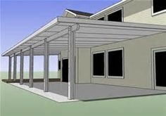 Free Do It Yourself Wood Projects: How To Build A Wood Patio Cover