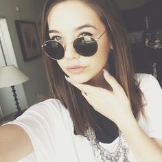 Amanda Steele. Should I get my hair cut this way??? Comment down below!!! :)