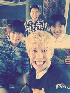 Block B's cheesy goodness provided by Kyung, Jaehyo, UKwon and P.O! Thank you!!!