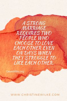 Secret to an enduring marriage!