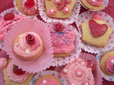 Creative Paths -  Valentine Cup Cake Workshops