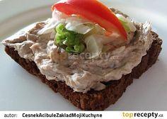 Rybičková pomazánka ze sardinek recept - TopRecepty.cz Mashed Potatoes, Hamburger, Beef, Ethnic Recipes, Desserts, Food, Cooking, Whipped Potatoes, Meat