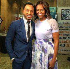 Terrence J To Moderate Keynote Conversation With MIchelle Obama For The 2015 Beating The Odds Summit