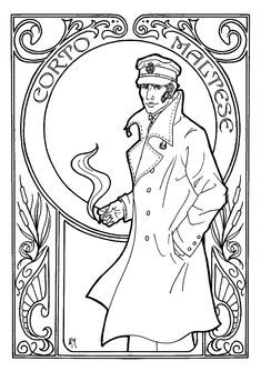 de 394 b sta photo bilderna p pinterest photography 101 Income Tax Tutorial Cheat Sheet adult corto maltese art nouveau coloring pages printable and coloring book to print for free find more coloring pages online for kids and adults of adult