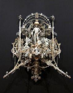 "Openings: Kris Kuksi – ""Triumph"" @ Joshua Liner Gallery « Arrested Motion"