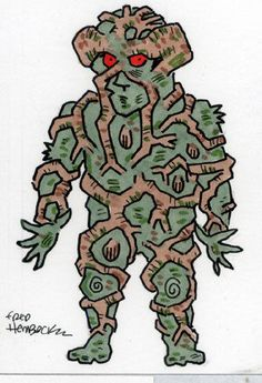 Fred-Hembeck-Color-Sketch-Card-SwampThing-DC-1-1