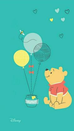Winnie Pooh – Paris Disneyland Pictures Source by Cute Winnie The Pooh, Winne The Pooh, Winnie The Pooh Quotes, Winnie The Pooh Friends, Disney Phone Backgrounds, Disney Phone Wallpaper, Cute Backgrounds, Iphone Wallpaper, Baby Wallpaper