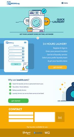"Check out this @Behance project: ""WeDeyWash.com (Laundry Web App)"" https://www.behance.net/gallery/50276849/WeDeyWashcom-(Laundry-Web-App)"