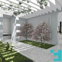 Projeto Chácara EP. Hall dos lavabos, Goiânia-Goiás. #Fors #Ideias #Arquitetura #issoéFORS