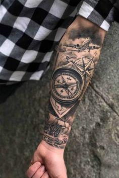 Tribal Tattoos, Cool Forearm Tattoos, Irezumi Tattoos, Bild Tattoos, Arm Tattoos For Guys, Cover Up Tattoos For Men, Tattoos Pics, Tatoos, Half Sleeve Tattoos Color