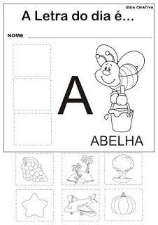 Atividades Com As Vogais Para Imprimir Educacao Infantil