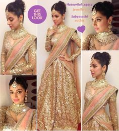 Divya Khosla Kumar looks like a dream in this outfit by Sabyasachi.