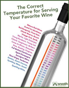 Q Wines tip on serving your wine at its best.....