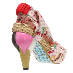 Irregular choice shoe Bought these for a wedding.Wedding was cancelled. I thought I could wear them this summer....summer is cancelled!!!