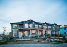 Photo for MLS®# - home for sale at 622 Cranford Wk Se, Cranston, Calgary AB Brookfield Residential, New Homes For Sale, Calgary, Townhouse, North America, The Good Place, Building A House, This Is Us, Exterior