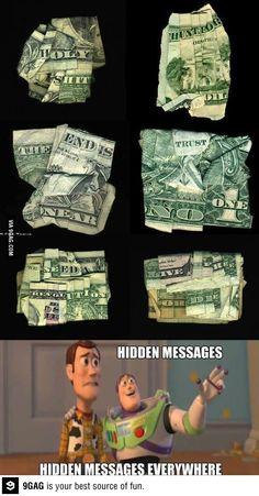 Hidden messages!
