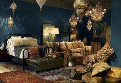 Moroccan Inspired Bedroom