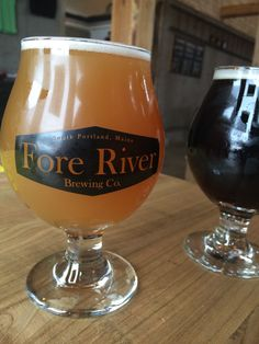 Fore River Brewing Co., South Portland, Maine. Lygonia IPA EXCELLENT