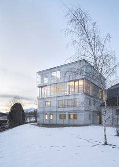 Gallery of Studio + Living + Production / stifter + bachmann - 12
